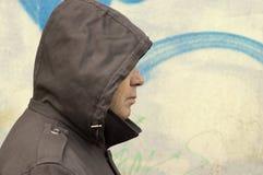 Il fait froid dans la ville Photographie stock libre de droits
