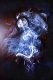 Il fantasma del fumo immagine stock