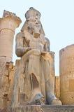 Il faraone egiziano Fotografie Stock