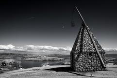 Il faro all'estremità di Verdens, Norvegia Immagine Stock Libera da Diritti
