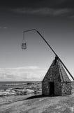 Il faro all'estremità di Verdens, Norvegia Immagini Stock Libere da Diritti