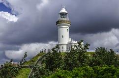 Il faro di Byron Bay Fotografie Stock