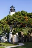 Il faro di Key West, Florida, U.S.A. Fotografia Stock Libera da Diritti