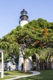 Il faro di Key West, Florida, U.S.A. Fotografia Stock