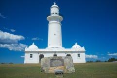 Il faro di Macquarie, Sydney, Australia Fotografie Stock
