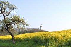 Il faro a Vesborg Fotografie Stock