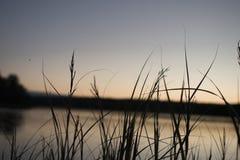 Il fascino del tramonto è eterno Fotografia Stock Libera da Diritti