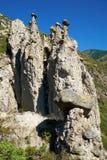 Il fenomeno della natura ed il miracolo della natura lapidano le rocce dei funghi in Al Immagine Stock Libera da Diritti
