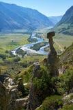 Il fenomeno della natura ed il miracolo della natura lapidano le rocce dei funghi in Al Fotografie Stock Libere da Diritti