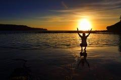 Il fermo del ll del ` i il sole e non lo dà mai ancora indietro Fotografia Stock Libera da Diritti