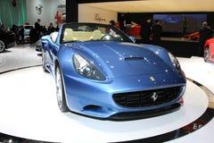 Il Ferrari California Fotografie Stock Libere da Diritti