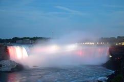 Il ferro di cavallo cade in cascate del Niagara, Ontario Fotografie Stock