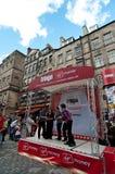 Il festival 2011 della frangia di Edinburgh fotografia stock