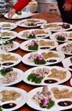 Il festival cinese intrattiene in campagna del Fujian, sud della Cina Fotografia Stock