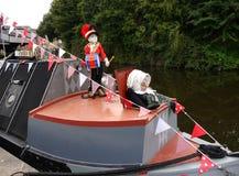 Il festival del canale di Leeds Liverpool a Burnley Lancashire Fotografia Stock Libera da Diritti