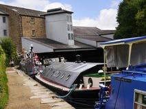 Il festival del canale di Leeds Liverpool a Burnley Lancashire Fotografia Stock
