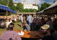 Il festival del cavaliere medievale Immagini Stock