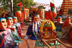 Il festival del tempio in Taiwan in Asia immagini stock libere da diritti