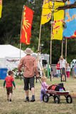 Il festival dell'albero di Larmer, Tollard reale, Wiltshire, Regno Unito Immagini Stock