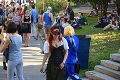 Il festival delle subcolture e del cosplay della gioventù Immagine Stock