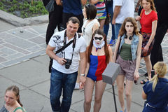Il festival delle subcolture e del cosplay della gioventù Fotografia Stock