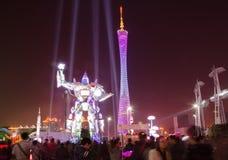 Il festival di Canton delle luci internazionale. Rob Fotografie Stock