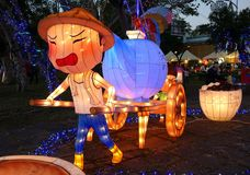 Il festival 2016 di lanterna di Kaohsiung Fotografia Stock