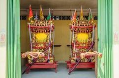 Il festival di nove dei dell'imperatore in Ampang Fotografia Stock Libera da Diritti