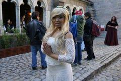 Il festival medievale 2015 alla parte 2 forte 24 del parco di Tryon Fotografia Stock Libera da Diritti