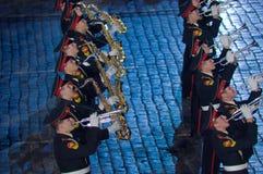 Il festival militare-musicale internazionale Immagine Stock