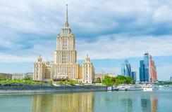 Il fiero di architettura sovietica a Mosca Fotografia Stock