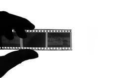 Il film di fotografia Fotografie Stock