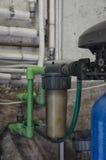 Il filtro di un addolcitore dell'acqua Fotografie Stock