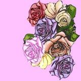 Il fiore è aumentato Fotografie Stock Libere da Diritti