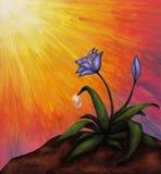 Il fiore alla luce (2012) Immagini Stock Libere da Diritti