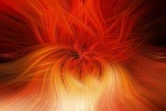 Il fiore Colourful, lascia astratto/struttura/fondo illustrazione di stock