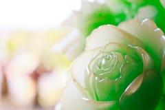 Il fiore di scultura Immagini Stock