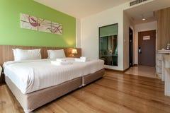 Il fiume è un hotel moderno di stile accanto a Mae Kong River Fotografia Stock