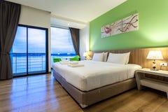 Il fiume è un hotel moderno di stile accanto a Mae Kong River Immagini Stock