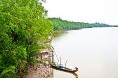Il fiume Fotografia Stock Libera da Diritti
