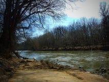 Il fiume Fotografie Stock Libere da Diritti