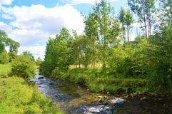Il fiume Aire fotografie stock libere da diritti