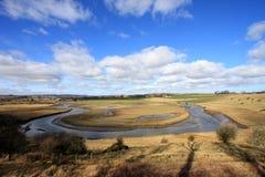 Il fiume Aln Immagine Stock