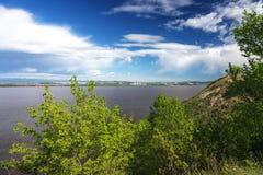 Il fiume Amur Immagini Stock Libere da Diritti