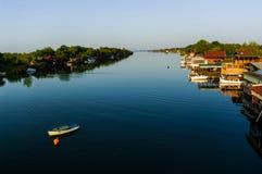 Il fiume Bojana Fotografia Stock