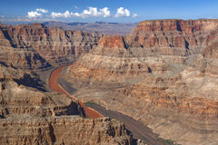 Il fiume Colorado e Grand Canyon, Nevada, Stati Uniti Fotografia Stock Libera da Diritti