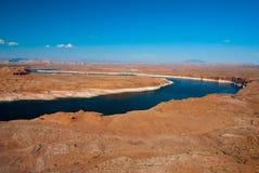 Il fiume Colorado, l'Arizona e l'Utah superiori, U.S.A. Immagine Stock Libera da Diritti