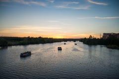 Il fiume Colorado, il Texas fotografie stock libere da diritti