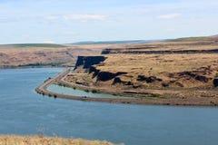 Il fiume Columbia Immagine Stock