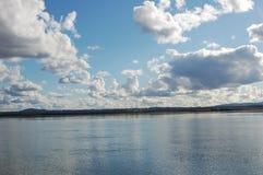Il fiume Columbia Immagini Stock
